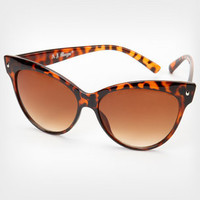 Tortoise Contessa Sunglasses | Shop All Sunglasses | fredflare.com