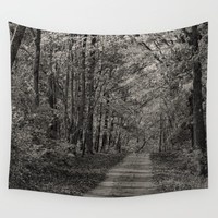 Tripping Through Time Wall Tapestry by Theresa Campbell D'August Art