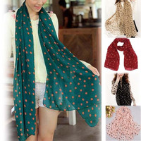 Hot Sale Accessories Women Velvet Chiffon Scarf Long Silk Scarf   Shawl Wraps = 1957926084