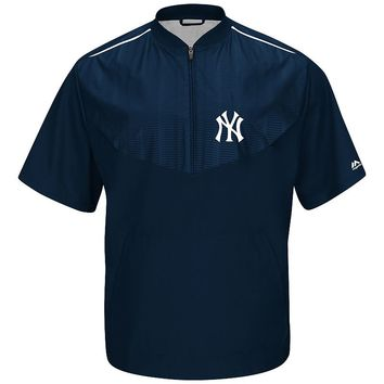 Majestic New York Yankees On-Field Cool Base Training Jacket