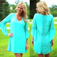 Crushin' On Crochet Dress