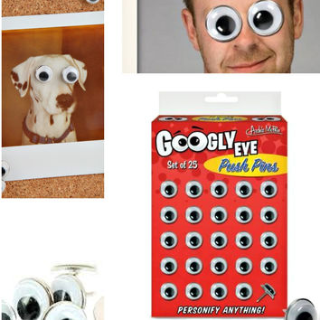 Googly Eyes Push Pins