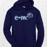 Relativity of Space and Time Doctor Who Hoodie -  Unisex doctor who hoodie. Comes in Navy, black, and royal blue.