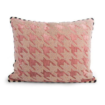 MacKenzie-Childs Patisserie Houndstooth Pillow