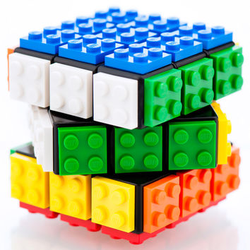LEGO® Plated Puzzle Cube: Iconic Retro Game Toy