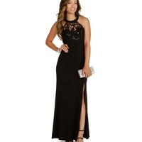 Angie-Black Prom Dress