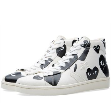 Comme des Garcons Play x Converse Pro Leather Hi