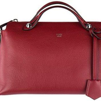 Fendi women's leather handbag shopping bag purse bauletto by the way piccolo cal