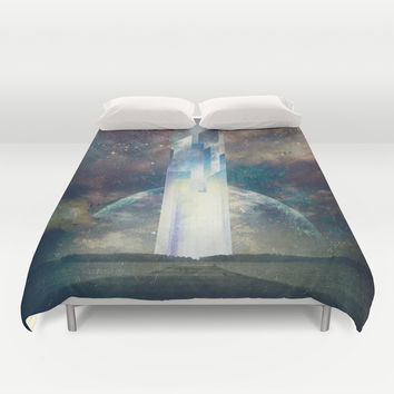 It´s your fault Duvet Cover by HappyMelvin