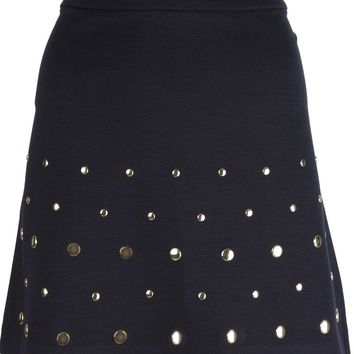 Michael Michael Kors studded mini skirt