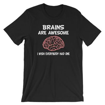 Brains are Awesome Premium T-Shirt