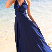 Pinot Noir Dress (navy)