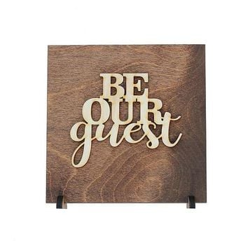 Be Our Guest - Spare Bedroom Decor - Guest Bedroom