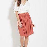 Contemporary Shirred Skirt