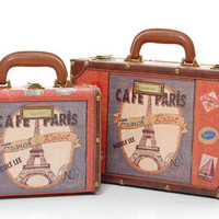 Camilla Cafe Paris Mini Rounded Suitcase
