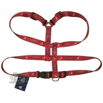 DCCKGW6 Alabama Crimson Tide Dog Harness