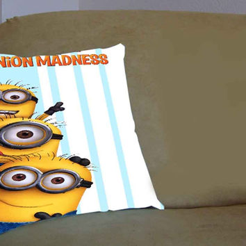 despicable me minion madness wallpaper costumized - Pillow Case, Pillow Cover, Custom Pillow Case **