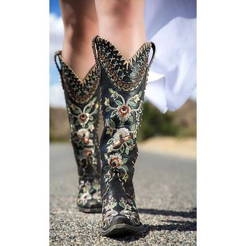 Double D Almost Famous Boots by Old Gringo~ Black