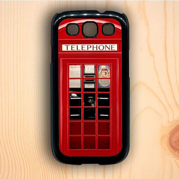 Dream colorful Vintage London Phone Boothm Samsung Galaxy S3 Case