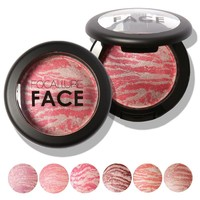 Focallure 6 colors Blush Bronzer Blusher Natural facial features Blush bronzer face Color  Professional Cheek Blush Makeup
