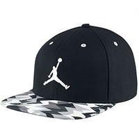 Nike Men's Jordan VII Sneaker Adjustable Snapback Hat, Black