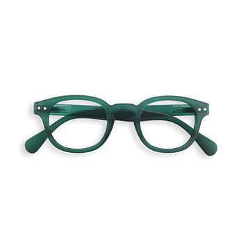 Izipizi - #C Green Crystal Reader Eyeglasses / +3.00 Lenses