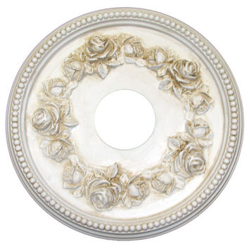Rose Wreath Ceiling Medallion