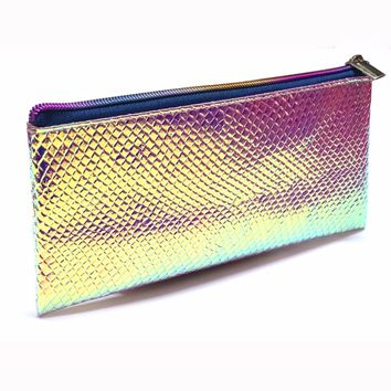 Mermaid Scales Cosmetics Bag