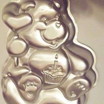 Care Bears 1983 Wilton Enterprises Birthday Cake Pan American Greetings Corp 2105-1793