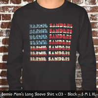 Bernie Sanders Long Sleeve Shirt USA | v.03 | Free Shipping