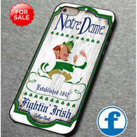 rare Notre Dame Fighting Irish for iphone, ipod, samsung galaxy, HTC and Nexus Case