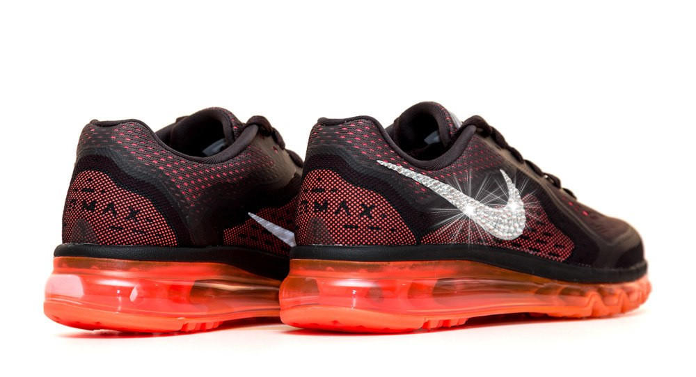 Women s Nike Air Max 360 Running Shoes By Glitter Kicks - Customized With  Swarovski Cr 0e85fe718