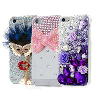 Bling Gradient Rhinestone Shining Phone Case For Apple iPhone 4 iPhone4 4s