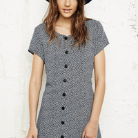 Vintage O&O '90s Button Dress - Urban Outfitters