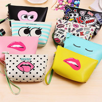 Cute Waterproof European and American Style Storage Makeup bags