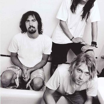 Nirvana Bathtub Band Poster 24x36