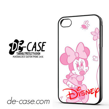 Disney Minnie Mouse DEAL-3362 Apple Phonecase Cover For Iphone 4 / Iphone 4S