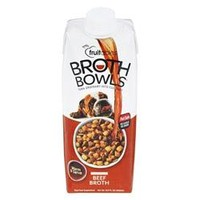 Fruitables Beef Broth Bowls for Dogs Food Topper