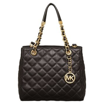 MICHAEL Michael Kors Small Susannah NS Tote in Black
