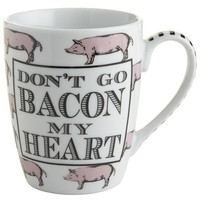 Don't Go Bacon My Heart Boxed Mug