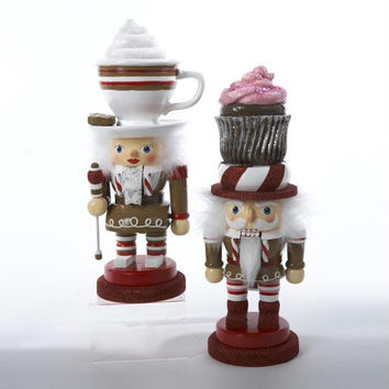 2 Christmas Nutcrackers - Gingerbread