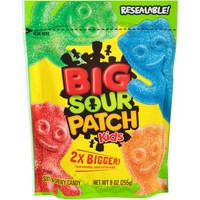 Sour Patch Kids Big Candy 9 oz. Bag - Walmart.com