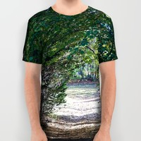 Country Road All Over Print Shirt by Stephen Linhart