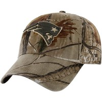 '47 Brand New England Patriots Franchise Fitted Hat - Realtree Camo