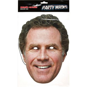 Will Ferrell party mask