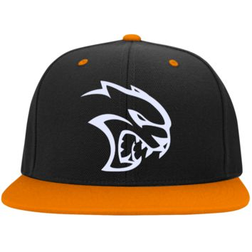 DODGE HELLCAT STC19 Sport-Tek Flat Bill High-Profile Snapback Hat