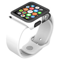 SPECK SPK-A4146 Apple Watch(R) 38mm CandyShell(R) Fit Case (White/Black)
