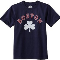 Wes and Willy Boys 8-20 Boston Short Sleeve Tee