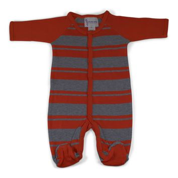 Infant Rugby Footed Romper