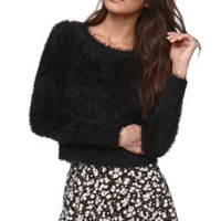 LA Hearts Eyelash Crop Sweater at PacSun.com